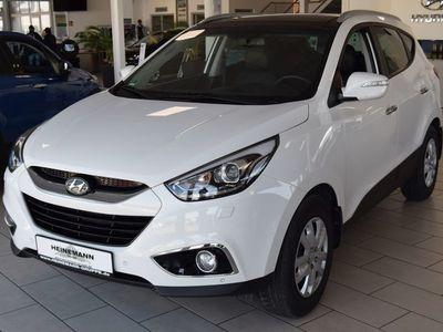 gebraucht Hyundai ix35 1.6 PanoD-Navi-Leder-TOP GEPFLEGT- wenig KM
