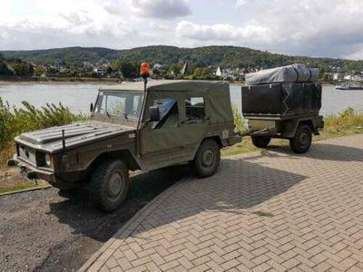 käytetty VW Iltis + Graaf Elze Hahn Anhänger + MES 2 und 3 Werkzeugsatz