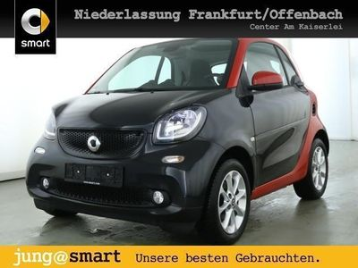 gebraucht Smart ForTwo Coupé 52kW passion cool&Audio SHZ Pano