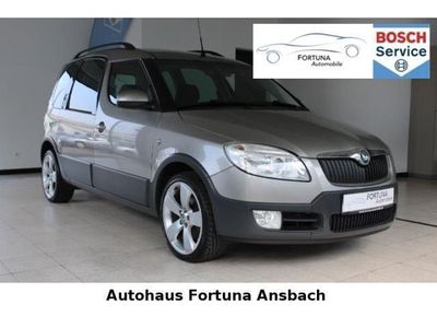 gebraucht Skoda Roomster Scout Tempomat Klima PDC