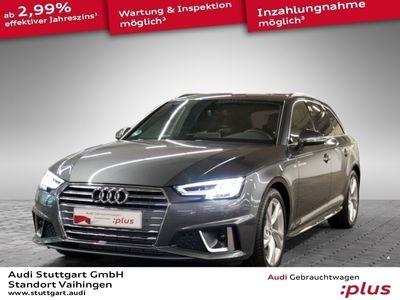 gebraucht Audi A4 Avant Sport 35 TFSI S Line LED Navi Keyless