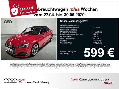 gebraucht Audi A5 Cabriolet 45 TFSI Quattro S-tronic Sport 3xS-Lin