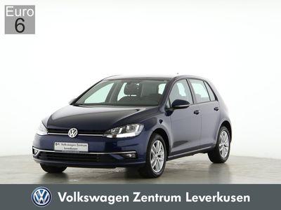 gebraucht VW Golf VII 1.6 Comfortline PDC SHZ NAVI ACC EU6 - Leder,Klima,Sitzheizung,Alu,Servo,