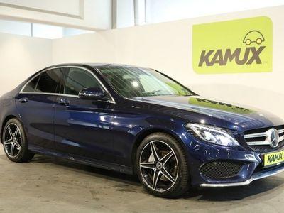 gebraucht Mercedes C200 AMG Sport +LED ILS +Navi +Teil-Leder