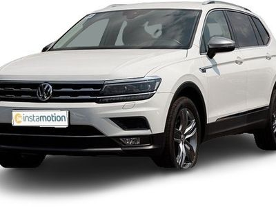 gebraucht VW Tiguan Allspace Tiguan2.0 TDI DSG 4M 190PS Highline 7-Sitze LM19 Navi LED