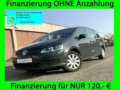 gebraucht VW Sharan Trendline BMT 1.HAND TÜV NEU NAVI DSG PDC als Van/Kleinbus in Berlin