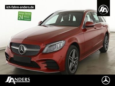 gebraucht Mercedes C400 4M T AMG Comand+Burm+Distr+LED+Pano+360°