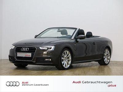 gebraucht Audi A5 Cabriolet 2.0 TDI S line NAVI SITZBELÜFTUNG - Klima,Xenon,Sitzheizung,Alu,Servo,
