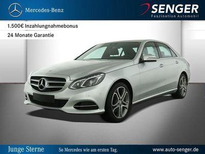 gebraucht Mercedes E220 BlueTEC 4MATIC Limousine Avantgarde Park-A