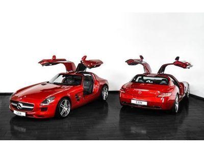 "gebraucht Mercedes SLS AMG COUPE 1.HAND ""DEUTSCH""- PERFEKT! B&O"
