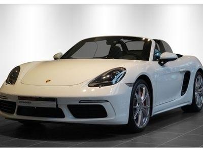 gebraucht Porsche 718 BoxsterS 2.5 Leder Navi Dyn. Kurvenlicht El. Verdeck Fernlichtass. LED-hinten