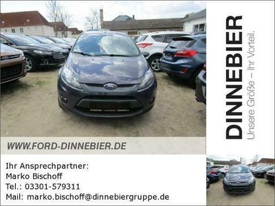 gebraucht Ford Fiesta Trend (EURO 5) 1.25 Gebrauchtwagen, bei Autohaus Dinnebier GmbH