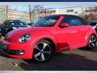 usado VW Beetle Cabriolet 2.0 TDI Exclusive Kamera|Sitzh.