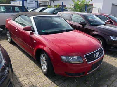 gebraucht Audi A4 Cabriolet A42.4,Leder,Klima,