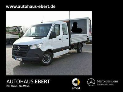 gebraucht Mercedes Sprinter 315 CDI DOKA Lang MBUX Navi AHK 6Sitzer