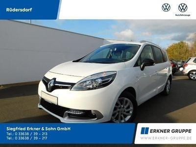 "gebraucht Renault Grand Scénic 1.5 dCI ""Limited"" GRA PDC KLIMA SHZ"