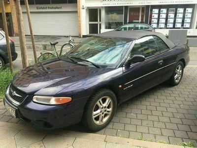 gebraucht Chrysler Stratus Cabrio 1999