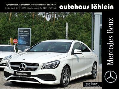 gebraucht Mercedes CLA200 Coupé AMG Line LED+Navi+PDC
