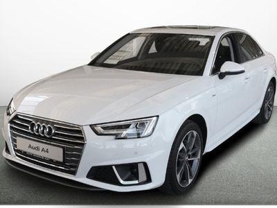 gebraucht Audi A4 LIMOUSINE 40TFSI S-LINE ALU18+AHK+LED+NAVI+SD