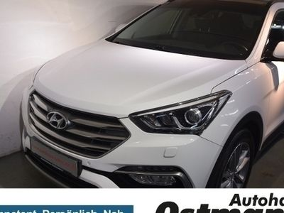 gebraucht Hyundai Santa Fe 2.2 CRDi Premium blue 4WD Xenon*Pano*RFK*Navi