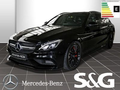 gebraucht Mercedes C63 AMG AMG S T 19/Sound/Park-Assist/Panorama/LED/