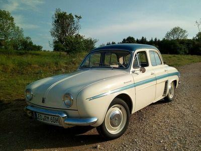 gebraucht Renault Dauphine seltene Zweifarblackierung, Bj 1960