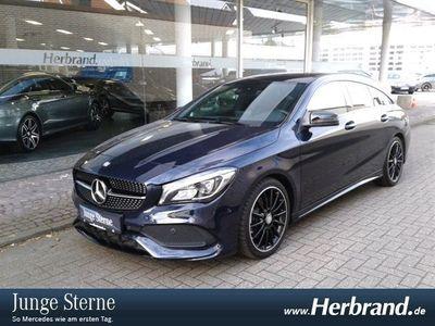 gebraucht Mercedes CLA220 Shooting Brake d 4matic AMG PSD,LED,Navi
