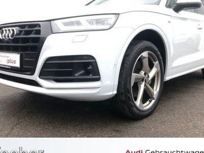 gebraucht Audi Q5 40 TDI quattro S tronic design AHK Navi LED