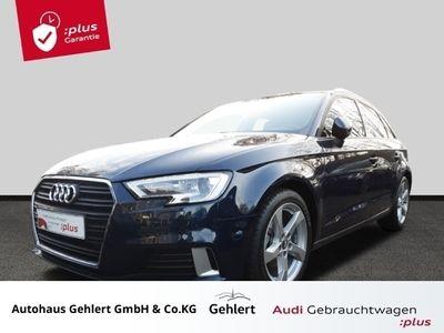 gebraucht Audi A3 Sportback Sport back 2.0 TDI Xenon Navi Parklenkass. PDCv+h Multif.Lenkrad