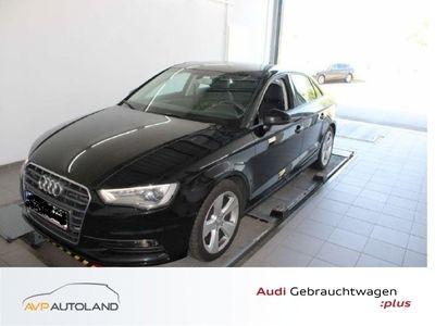 gebraucht Audi A3 Limousine Ambition 2.0 TDI SHZ|Navi|Xenon schwarz