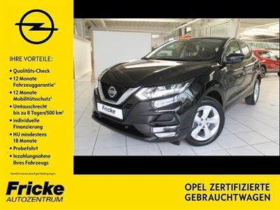 gebraucht Nissan Qashqai Acenta Automatik Klimaautomatik/Navi/PDC/Rückfahrkamera/Bluetooth