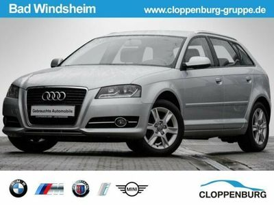 gebraucht Audi A3 Sportback 1.6 TDI DPF Attraction