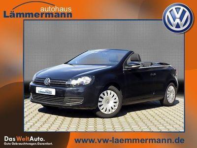 gebraucht VW Golf Cabriolet Trendline 1,6 TDI KLIMA NAVI