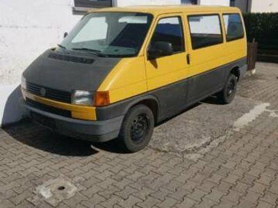 gebraucht VW T4 Bus mit LKW Zulassung