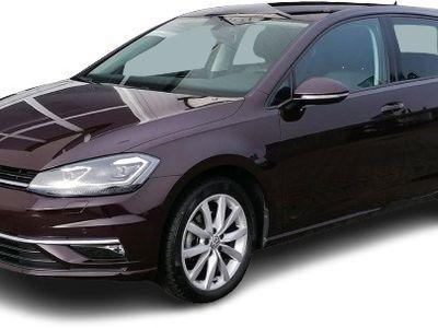 gebraucht VW Golf VII GolfHighline BMT StandHZG Kurvenlicht PDCv+h LED-hinten Start-Stopp 1.4 TSI LED