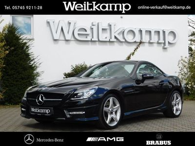 gebraucht Mercedes SLK200 AMG+Navigation+Panoramadach+Airscarf+PTS AMG Line