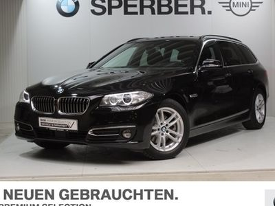 gebraucht BMW 520 d Touring Luxury Line Head-Up HiFi DAB Xenon