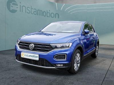 gebraucht VW T-Roc T-Roc1.5 TSI Sport KLIMA PDC SHZ NAVI LED ACC