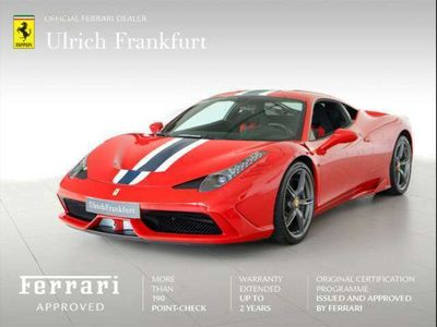 gebraucht Ferrari 458 Speciale *** Frankfurt***