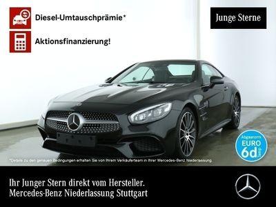 gebraucht Mercedes SL500 AMG Magic Sky Harman Distr+ COMAND ILS LED