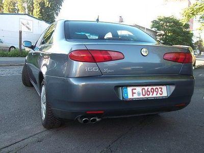 gebraucht Alfa Romeo 166 3.0 V6 24V TÜV/AU neu 6/2018 Leder/Xenon...