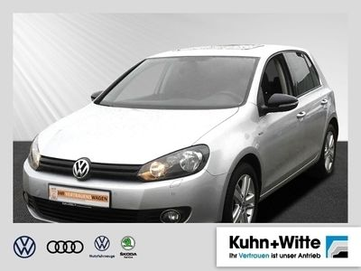 gebraucht VW Golf VI Trendline VI 1.2 TSI Match *AHK,Klima,Sitzheizung,Schiebedach*