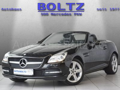 gebraucht Mercedes SLK200 Navi Parktronic Leder AIRSCARF Sitzh.