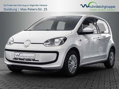 gebraucht VW up! move eco BMT 1.0 EcoFuel Klima AUX MP3 Radio