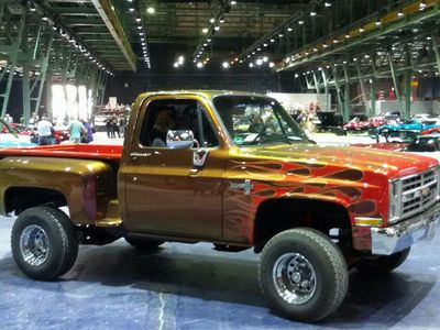 gebraucht Chevrolet Silverado V10 Stepside 4WD