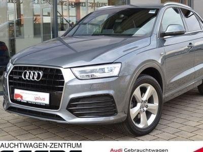 """gebraucht Audi Q3 TDI 2.0 qu/S-tr. S-line /Navi/LED/Keyless/18"""""""