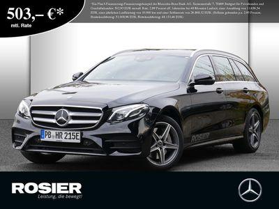gebraucht Mercedes E300 T AMG Line SHZ PTS KAMERA HUD NAVI LED