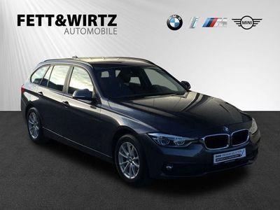 gebraucht BMW 318 d Touring Advantage Aut. Navi PDC LED Sitzhz