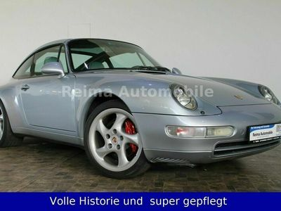 gebraucht Porsche 993 / 911 Targa mit 1. Lack kompletter Historie als Sportwagen/Coupé in Nümbrecht-Niederbröl