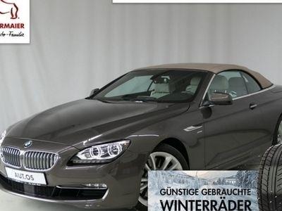 gebraucht BMW 650 Cabriolet i 4.4l 408PS xDrive STEPTRONIC LEDER.N